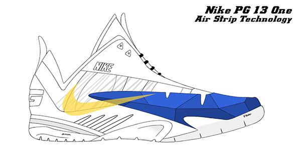 Nike Paul George On Behance