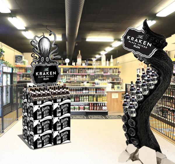 The Kraken Rum Ooh And Pos On Scad Portfolios
