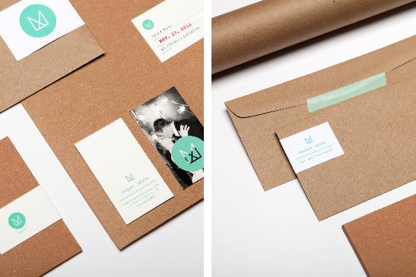 brand identity type washi tape photographer lables Folders envelopes