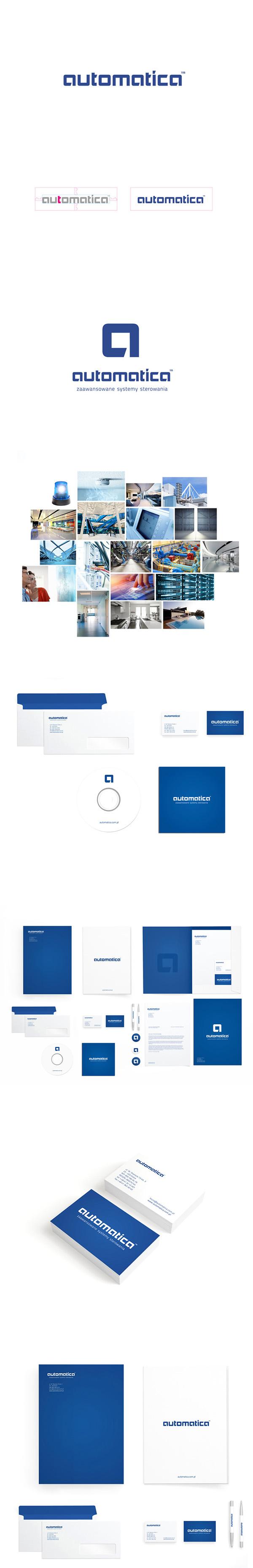 logo automatica blue