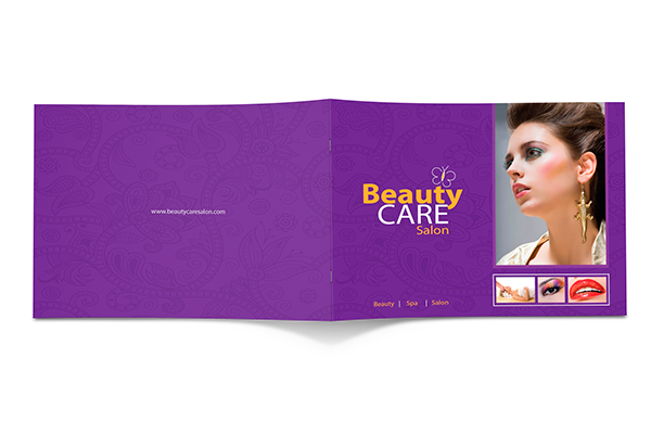 Free Beauty Care Salon Brochure on Behance