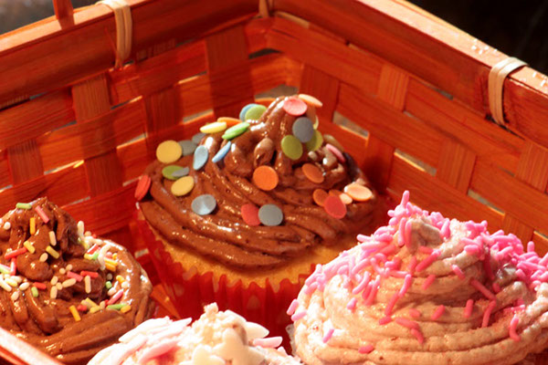cupcakes cakes color