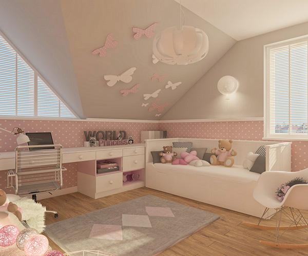 精細的18套粉紅色房間欣賞