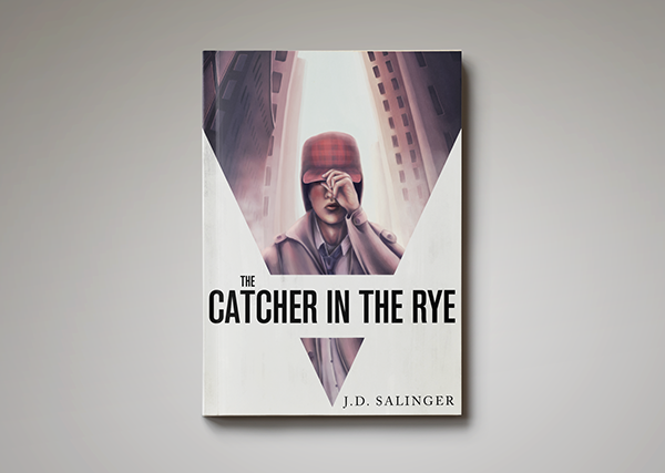 The Catcher In The Rye Book Cover On Student Show