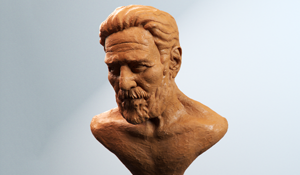 sculpture Zbrush emotions