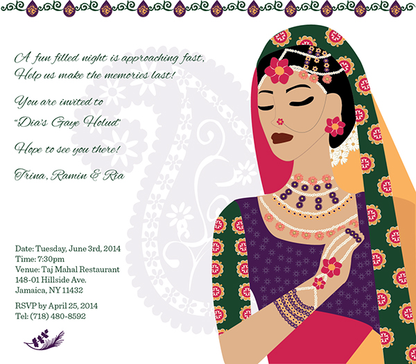 Pre Wedding Invitation On Behance