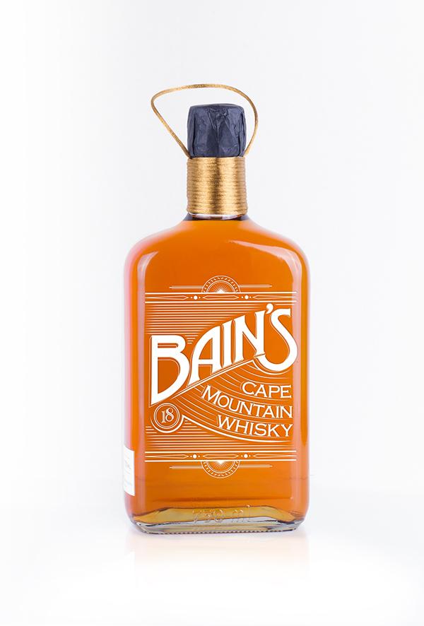 Bain 39 s cape mountain whisky on behance for Bain s whisky