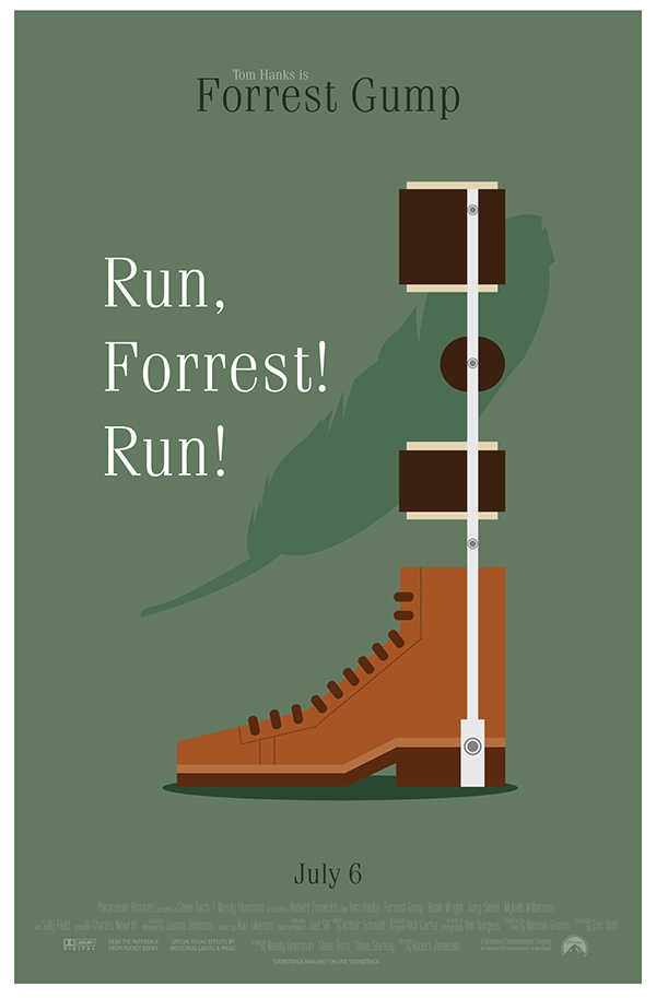 Forrest Gump Movie Pos...