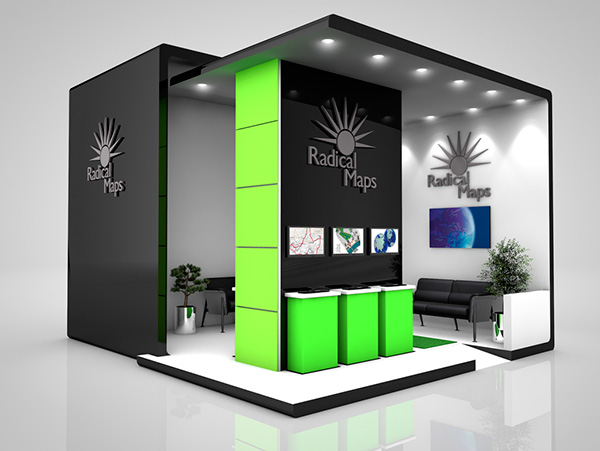 Exhibition Stand Design Kent : Radical maps exhibition stand design on behance