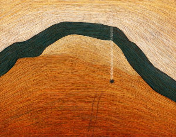 Landscape Drawing  digital painting contemporary design australian landscape australian artist painting   artist digital painter Rural Landscape