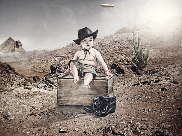 Baby Indiana Jones on Student Show 9234bd4e65b