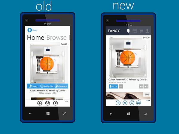 Fancy Windows Phone Redesign On Behance