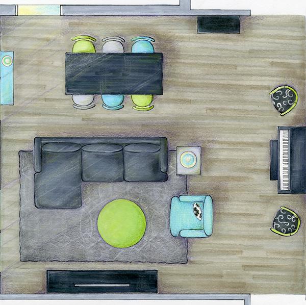 優質的22個房間顏色搭配欣賞