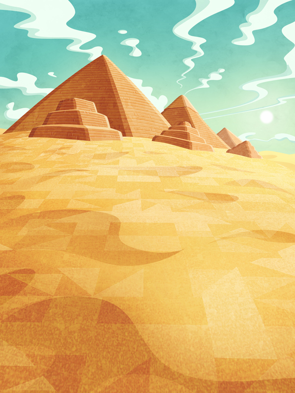 the man from egypt  ipad game  on behance