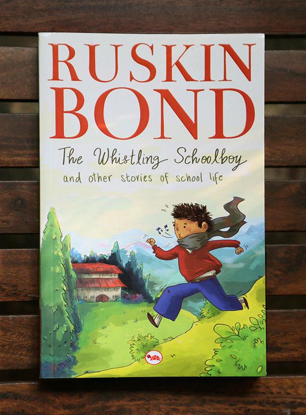 ruskin bond book cover design on behance