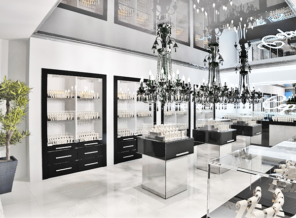 Jewelry store interior design on Behance