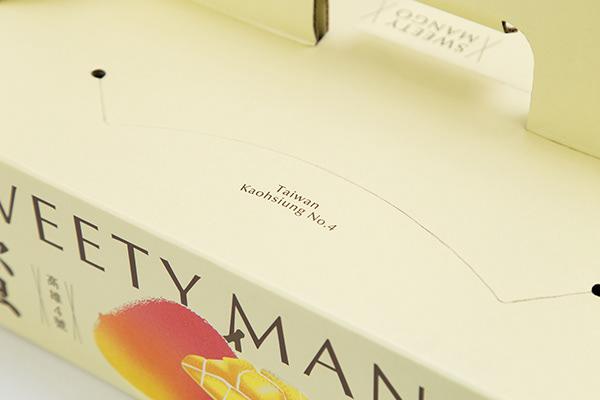 FruitPackage|蜜雪芒果禮盒設計