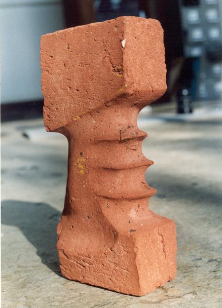 Zagara bricks sculpture dutch concepts Context related art Dutch design durable Sustainable art figurative abstract Realism contemporary