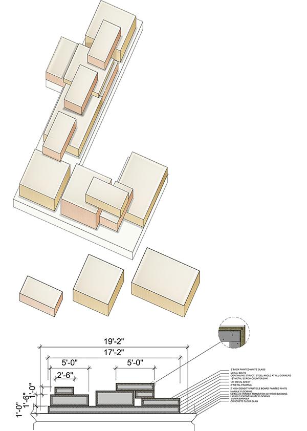 Interlock museum on philau portfolios for Interlocking architecture concept