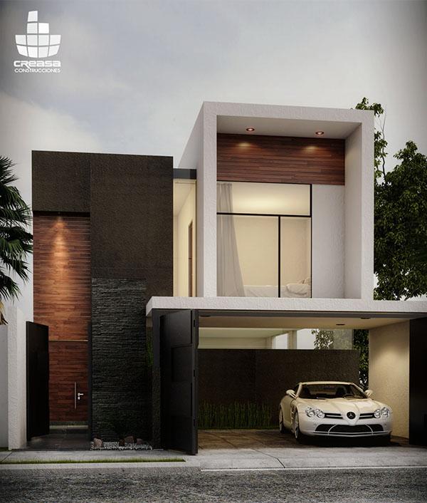 Casa jv colima 04 15 on behance - Construcciones de casas modernas ...