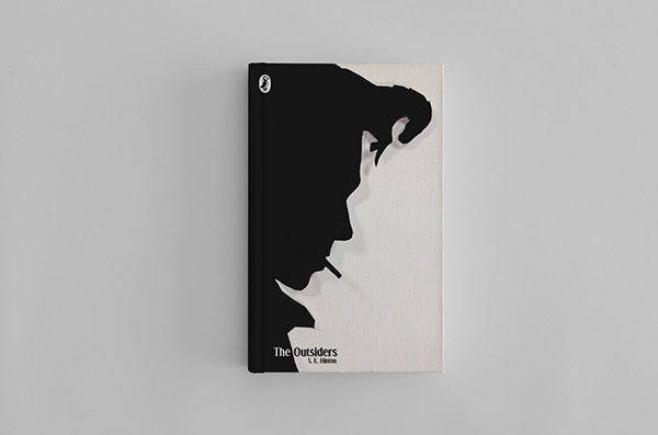 Leavers Book Cover Ideas : The outsiders book cover on behance