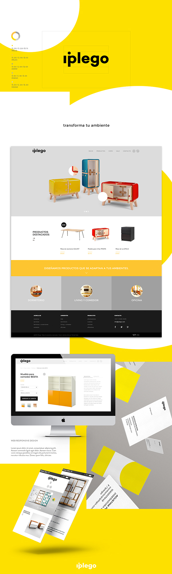 Ecommerce muebles furniture ambiente environment entorno