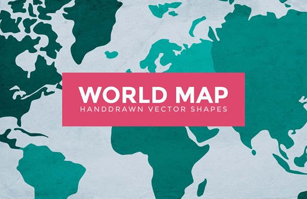 World map vector outlines on behance gumiabroncs Images