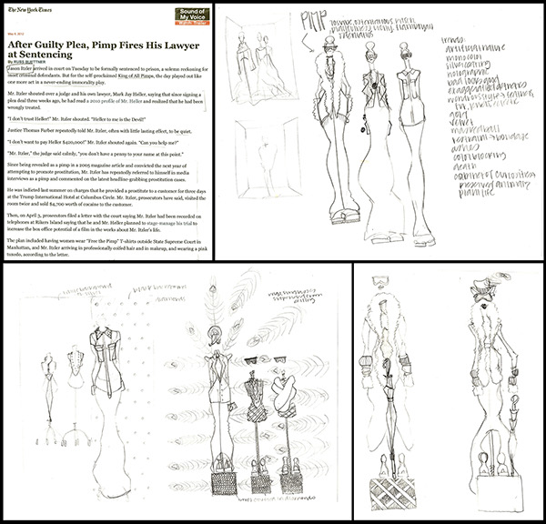 trend research and store display concept on scad portfolios