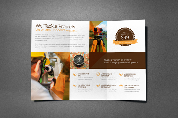 Multipurpose Professional Services Brochure On Behance