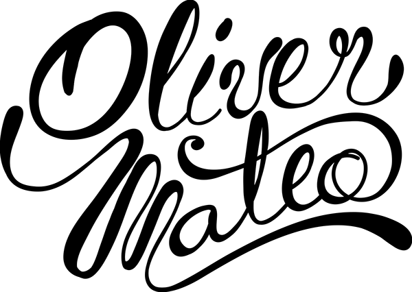 oliver mateo lettering on behance