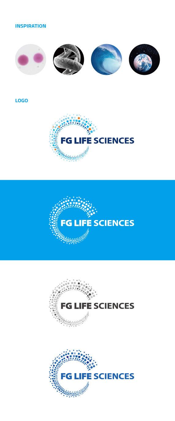 Logo | FG Life Sciences on Behance