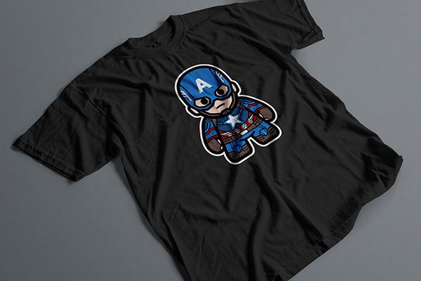 Captain America Chibi