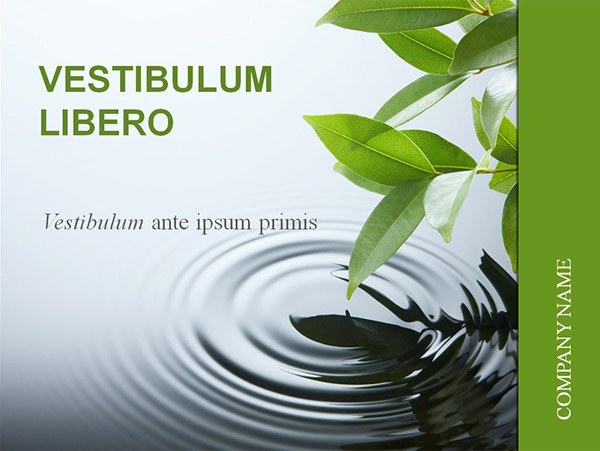 Most discussed projects on behance nature business powerpoint template toneelgroepblik Gallery