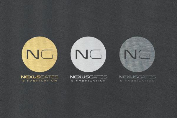 metal,logo,albuquerque,nexus gates,fabrication