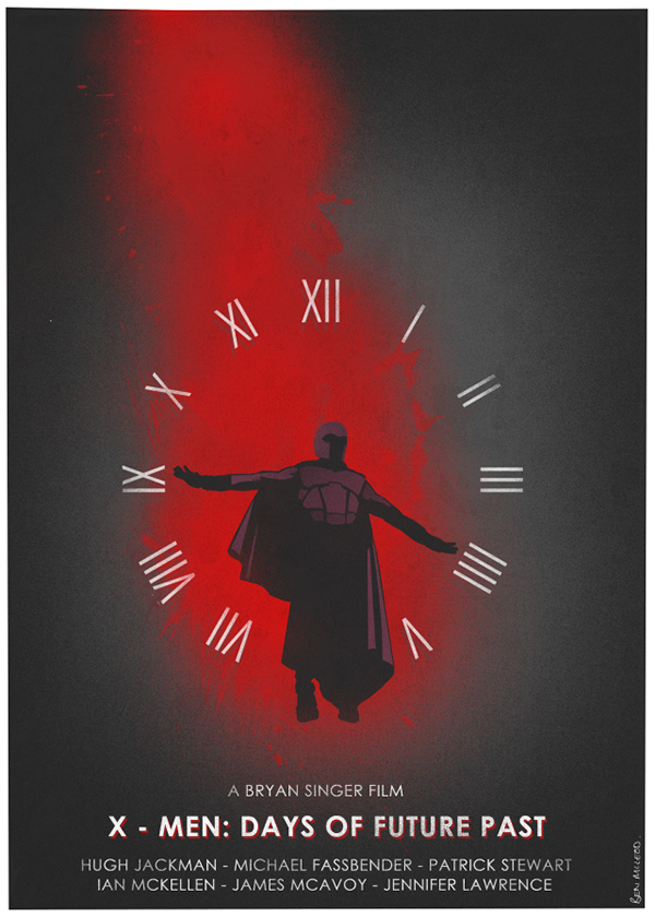 Poster Posse Project: X-Men Days Of Future Past on Behance