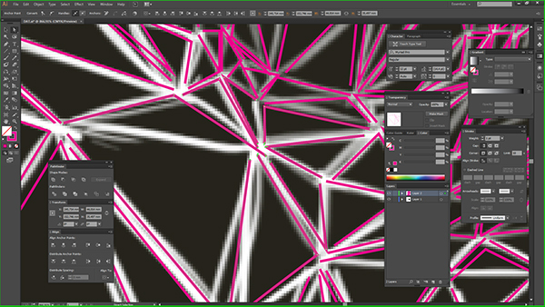 low-poly lowpoly poligonal Triangles delaunay triangulation portrait selfportrait timelapse tutorial tuts Breno BItencourt Polygons screencast Ps25Under25