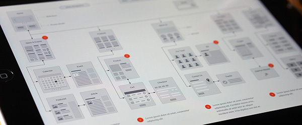 Website Flowchart & Sitemap for OmniGraffle on Behance