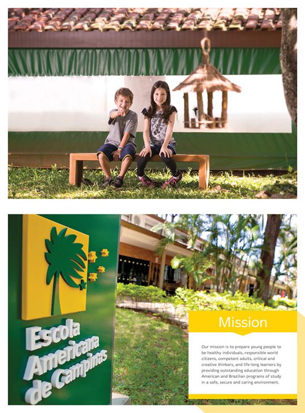 Calendar 2014 - 2015 | Escola Americana de Campinas on Pantone ...