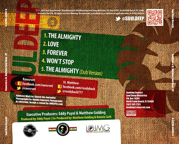 soul deep reggae Album design rawsrvnt st. matthew