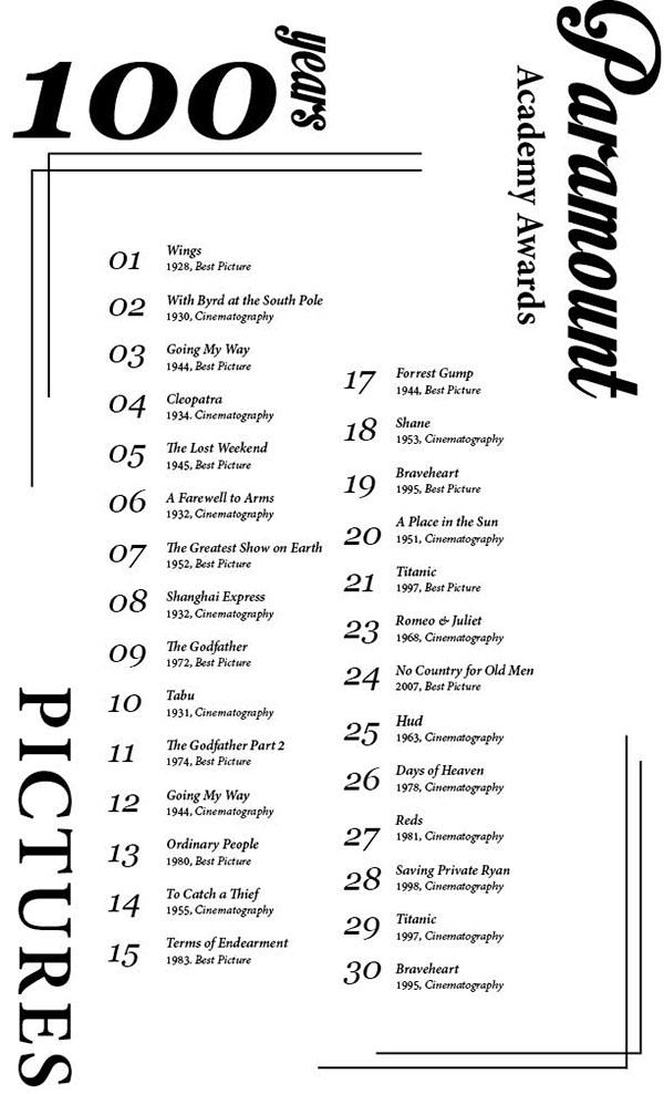 精品的31張海報排版設計欣賞