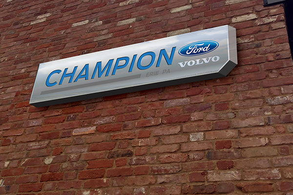 Champion Ford Erie >> Champion Ford Rebranding On Behance