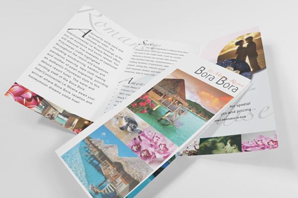 Bora Bora Tri Fold Brochure On Behance