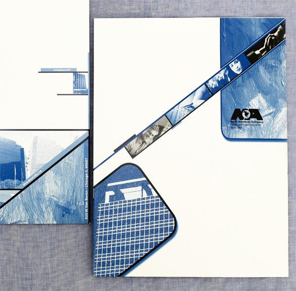 Folders,brochures,logos