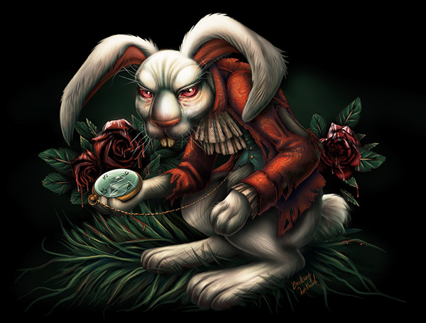 White Rabbit by Brittany Lockwood