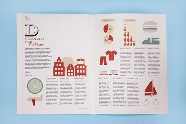 MONOCLE MAGAZINE on Behance