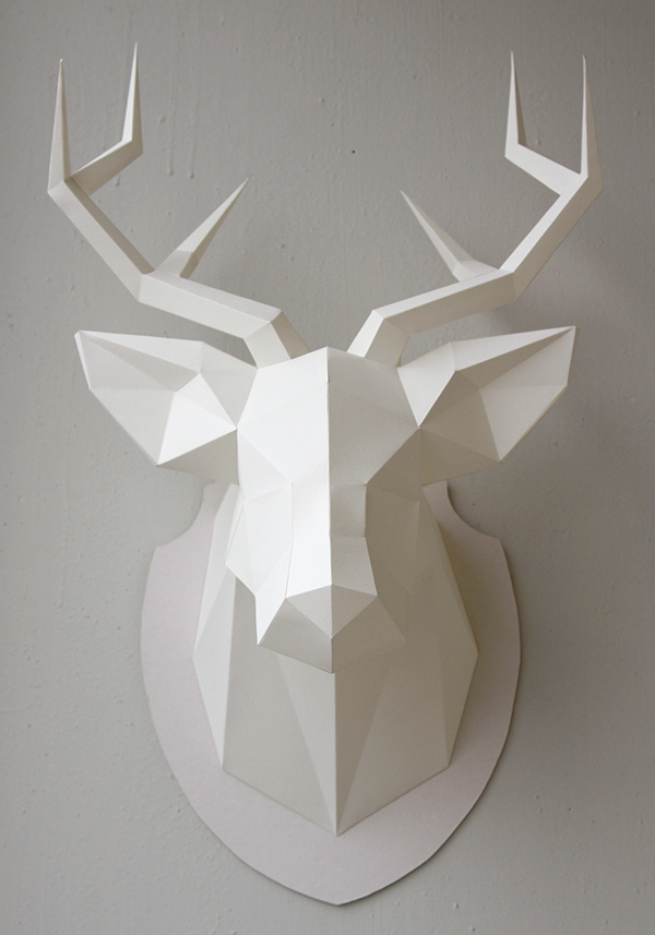 Скульптуры из бумаги схемы шаблоны