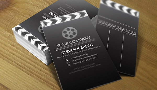 Film director creative business card design on behance purchase the template colourmoves
