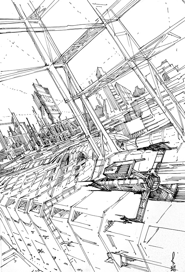 sketches city