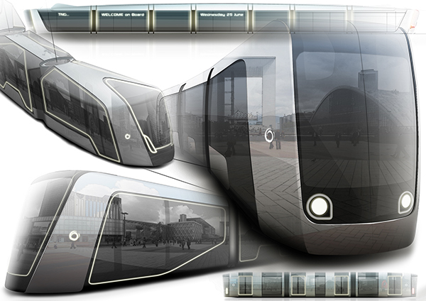 Concept Tram Alstom Work On Behance