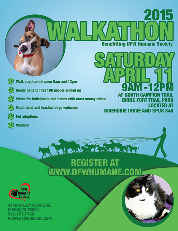 michael whiteside dfwhs walkathon flyer
